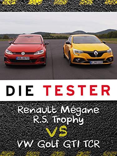 Die Tester: Renault Mégane R.S. Trophy vs. VW Golf GTI TCR