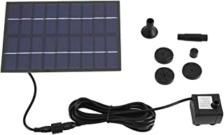 Solar Fountain Pump,Solar Panel Powered Water Fountain Pump Fish Tank Pond Pool Home Garden Watering Kit,for Fountain,Pon...