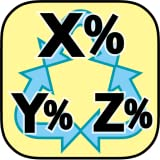 消費税一発変換!税率変更-割引き-比率変換計算電卓
