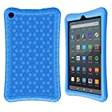 Surom Silicone Case for All-New Amazon Fire 7 2019/2017,