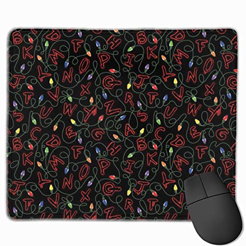 Mouse Pad Stranger Things Non-Slip Rubber Gaming Mouse Mat Rectangle Mousepad for Computers Laptop