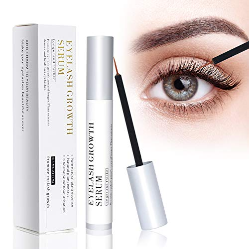 Eyelash Growth Serum,Eyebrow Lash Growth Serums Enhancer Natural Rapid Brow & Lash Booting for Longer Thick and Stronger Eyelash Extension (0.17 fl. oz)