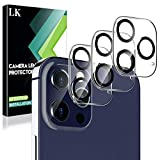 L K【3枚セット】iPhone12 Pro 6.1インチ対応 カメラフィルム【貼り付けやすい/硬度9H/高透過率/飛散防止/気泡防止/3Dタッチ対応】アイフォン12 Pro カメラフィルム レンズフィルム