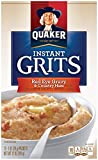Quaker Instant Grits, Red Eye Gravy and Country Ham, 12 Packets Per Box (Pack of 12 Boxes)