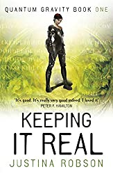 Cover of Keeping It Real by Justina Robson