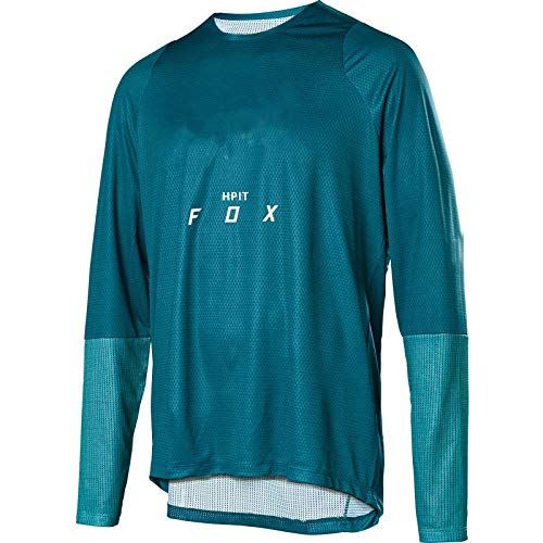 LGGJJYHMY hpit Fox Camiseta de Motocross MTB Camiseta de Descenso MX Ciclismo Bicicleta de montaña DH Maillot Ciclismo Hombre Camiseta de Secado rápido-XL
