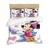 Lvvsovs 3D lecho de Imprimir Duvet Cover Set 240 x 220 cm bedcloth con la Funda de Almohada Juego de Cama Textiles for el hogar Individual Doble Rey Queen Size Personaje de Anime de Dibujos Animados