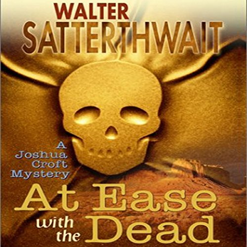 At Ease with the Dead audiobook cover art
