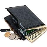 メンズウォレットコインバッグ、ジッパー財布、ミニ財布、新しいデザインドルスリムウォレットウォレットメンズウォレット、ブルー