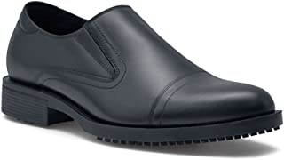 Shoes For Crews Mens Statesman Dress-Slip On Slip Resistant Work Shoe