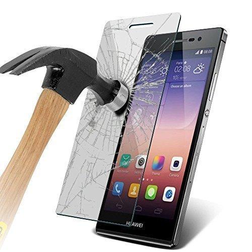 ZIMA® Protector de Pantalla para Huawei P9 Lite Cristal Templado Alta Transparencia y Ultra Resistente (Inastillable, Resistente a rayaduras)