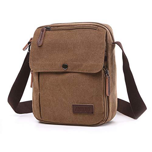 Mode rugzak Een schoudertas voor heren Canvas tas Zakelijke tas Schooltas Veelkleurige selectie Verstelbare riem Eenvoudig Duurzaam Lichtgewicht Grote capaciteit