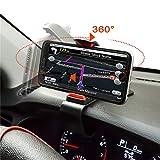 ZOORE Auto Handyhalterung, 360° einstellbar Handy Halterung für Kratzschutz Auto Armaturenbrett...