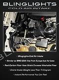 BlingLights Cold Air Carbon Fiber Intake for BMW E30 E32 E34 E36 E46 318i 325i M3