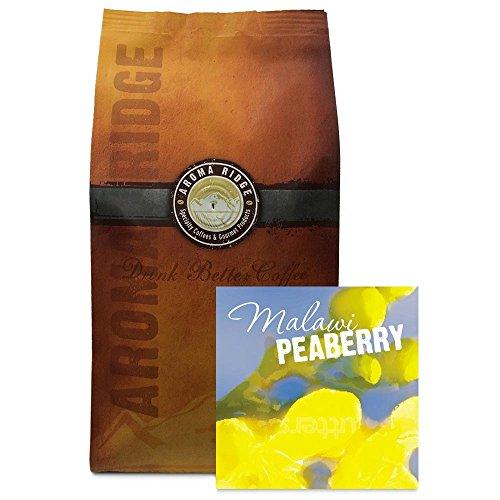 Malawi Mapanga Peaberry Coffee, 1 lb Whole Bean FlavorSeal Vacuum Bag