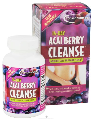 Applied Nutrition 14-day Acai Berry Cleanse 56-Count Bottle