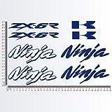 Aufkleber Stickers-kit kompatibel KAWA Ninja ZX-6R ZX6R Moto Decal wählen Code. 1154 (049 BLU...