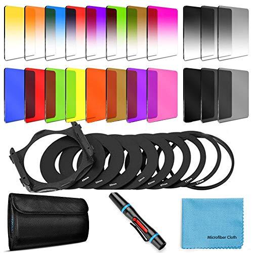 24 PCS Square Filter Kit ND Filt...