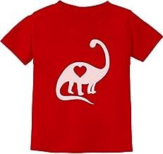 TeeStars - Dinosaur Love Heart Cute Toddler Kids T-Shirt