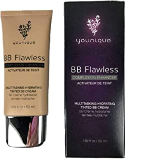 Younique Multitasking Hydrating Tinted Cream BB Flawless Complexion Enhancer BISQUE - WARM BEIGE