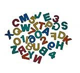 Badesticker Badespielzeug - Moosgummi ABC Buchstaben & Zahlen 36 Stück Stärke 0,8cm NEU&Originalverpackt