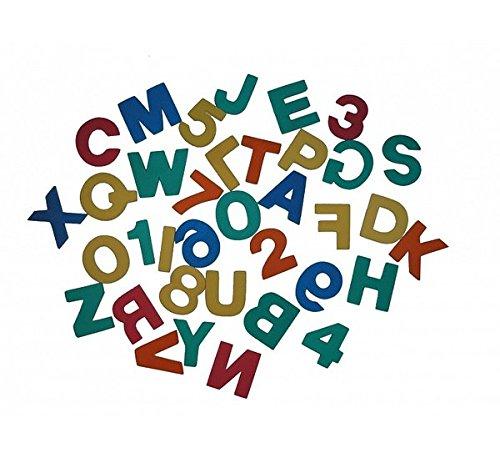 Stickers de Bain Bath Toy – ABC Lettres & Chiffres 36 pièces en caoutchouc mousse Épaisseur 0,8 cm Neuf et emballage d'origine