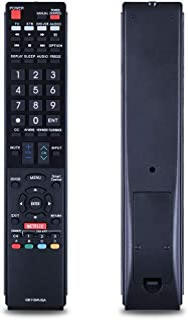 GB118WJSA - Mando a distancia de repuesto para televisión Sharp AQUOS TV GB004WJSA GB005WJSA GA890WJSA GB105WJSA GA935WJSAE
