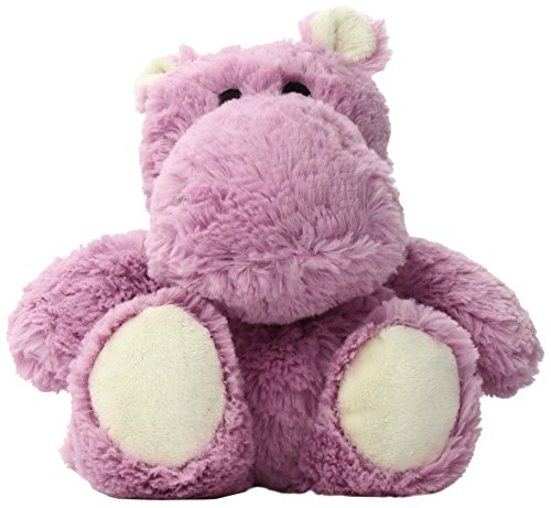 Intelex Warmies Microwavable French Lavender Scented Plush hippo