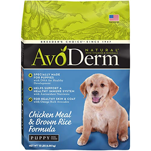 AvoDerm Natural Dog Food for Puppies