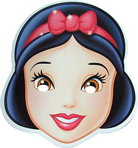 Disney Princesse Blanche Neige (Snow White) -Masque de Visage Fait en Carte Rigide - Produit Disney Officiel