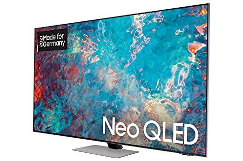 Samsung Neo QLED 4K TV QN85A 55 Zoll (GQ55QN85AATXZG), Quantum HDR 1500, Quantum-Matrix-Technologie, Ultra Viewing Angle [2021]