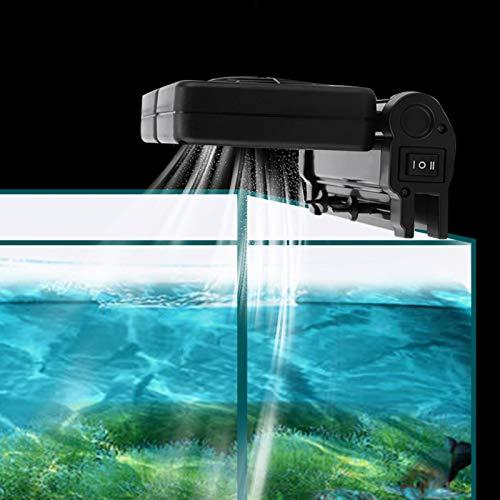 DAUERHAFT Reduzca la Temperatura del Agua Ventilador de enfriamiento del Tanque de Peces del Acuario para los Tanques de Peces(European regulations)