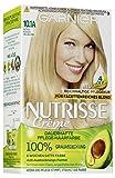 Garnier Nutrisse Creme Coloration Extra Kühles Hellblond 10.1A / Färbung für Haare für...