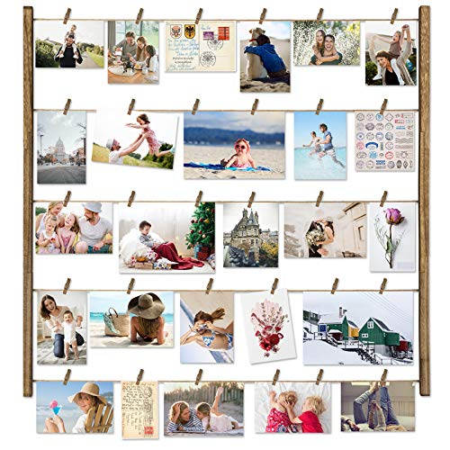 Love-KANKEI Wood Picture Photo Frame for Wall Decor 26×29 inch with 30...