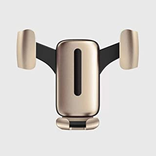 Car Phone Holder Air Outlet Navigation Bracket Car Accessories For 4.5-6.2 Inch Mobile Phone Gravity Buckle Bracket (color...