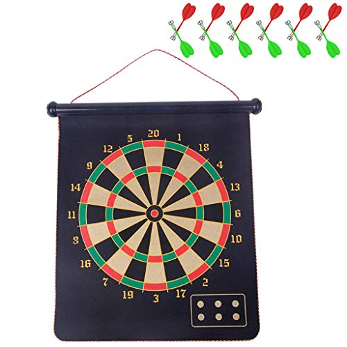Why Should You Buy Magnetic Dart Board, Indoor Outdoor Dart Games for Kids with 12pcs Magnetic Darts...