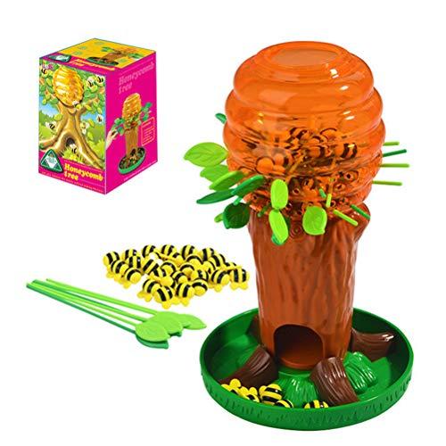 Shenruifa - Juego de mesa para niños, diseño de árbol de abeja...