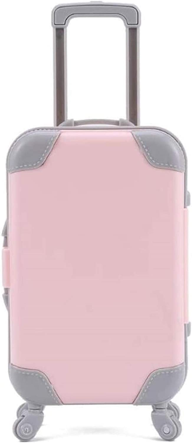 Doll Furniture Fashionable Plastic Travel Accessor Suitcase Max 78% OFF Luggage for