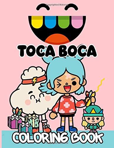 Toca Boca Coloring Book: Premium Toca Boca Coloring Books For Adults And Kids