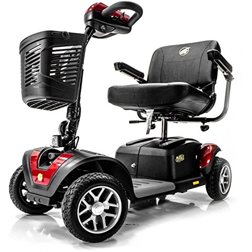 BUZZAROUND Extreme 4-Wheel Heavy Duty Travel Scooter