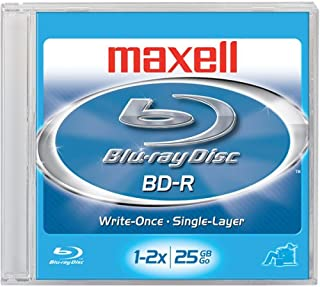 Maxell Bd-r Blu-ray Write-once Disc (Discontinued by Manufacturer)