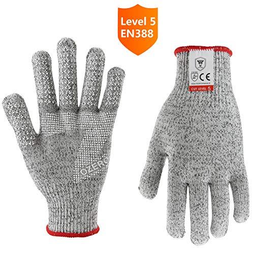 OZERO Küchenhandschuhe,Schnittfeste Handschuhe fur Schneiden und hacken