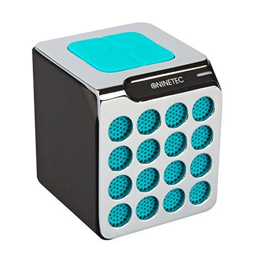 NINETEC BeatBoxx Bluetooth Speaker Lautsprecher Sound Box portabel Blau
