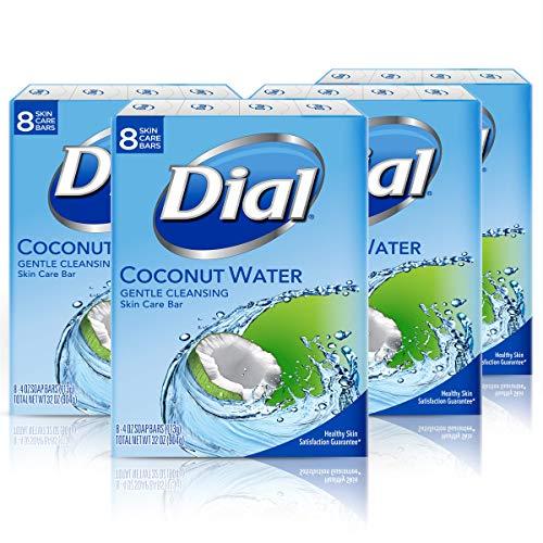 Dial Skin Care Bar Soap, Coconut Water, 32 Bars
