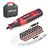Best Cordless Power Tools - POPULO Power Cordless Rotary Tool Kit,8V Rotary Tool Review