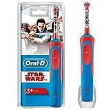 ORAL-B Oral-B - Cepillo de dientes eléctrico infantil Star Wars Powered by Braun, 300 g