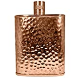 Jacob Bromwell Hammered Copper Freedom Flask 12OZ Hand Made