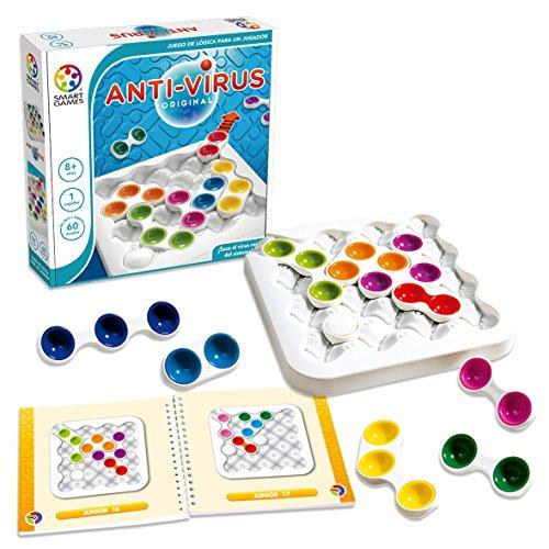 Smart Games - Anti-Virus Original, Juego Educativo Para Niños, Rompecabezas, Puzzle niño, smartgames