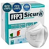 10 Masques de Protection FFP3...