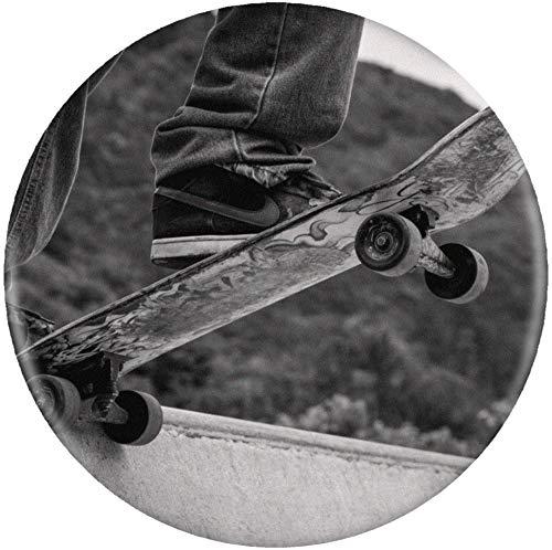 Stamp Press 58mm 'Skateboard' Pin Knopf-Abzeichen (BB00005780)